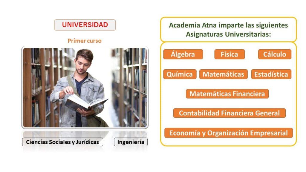 academia universitaria Atna en Móstoles Madrid