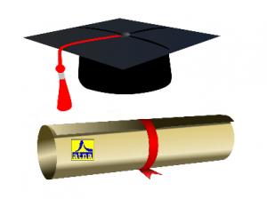 diploma de graduación de academia atna